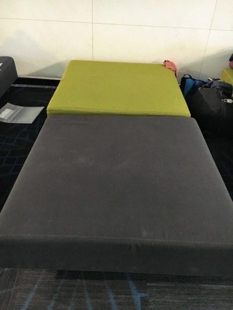 韓国仁川空港の無料仮眠スペース(ベッドマット)