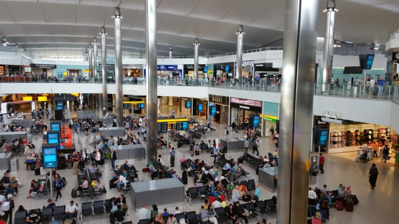 ロンドンヒースロー空港