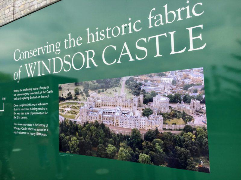 ウィンザー城(Windsor Castle)の全体像