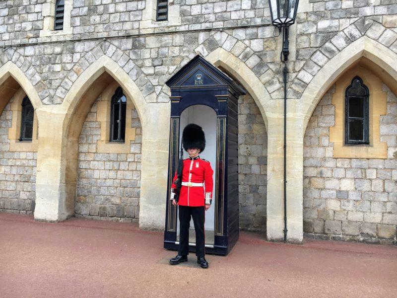 ウィンザー城(Windsor Castle)の兵隊