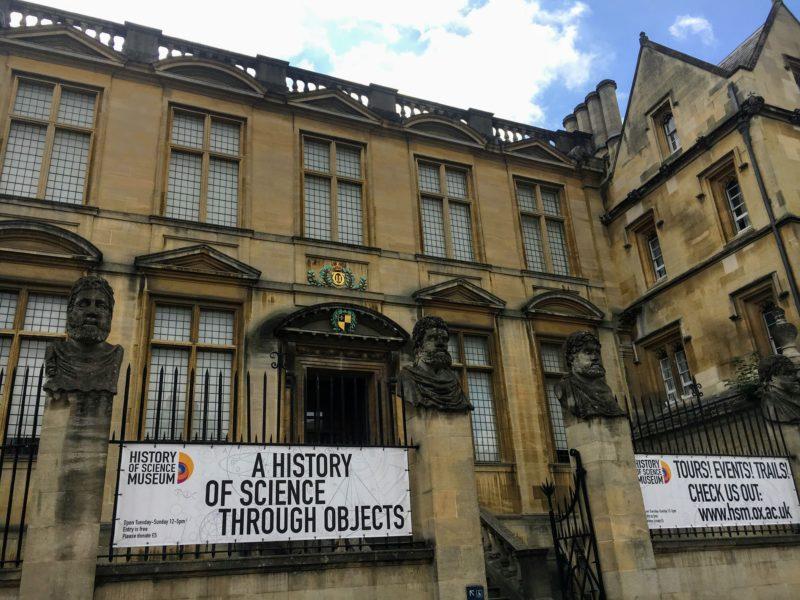 オックスフォード科学史博物館