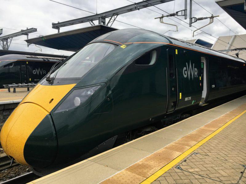 ロンドンからカーディフまで移動したGMR(Great Western Railway)