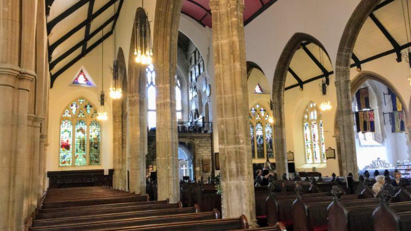 St John The Baptist City Parish Churchの内部