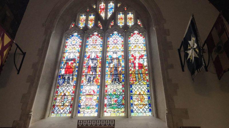 St John The Baptist City Parish Churchのステンドグラス