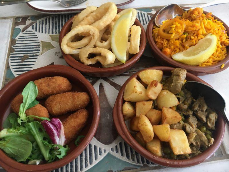 SANTIAGO'S(Cardiff)の料理