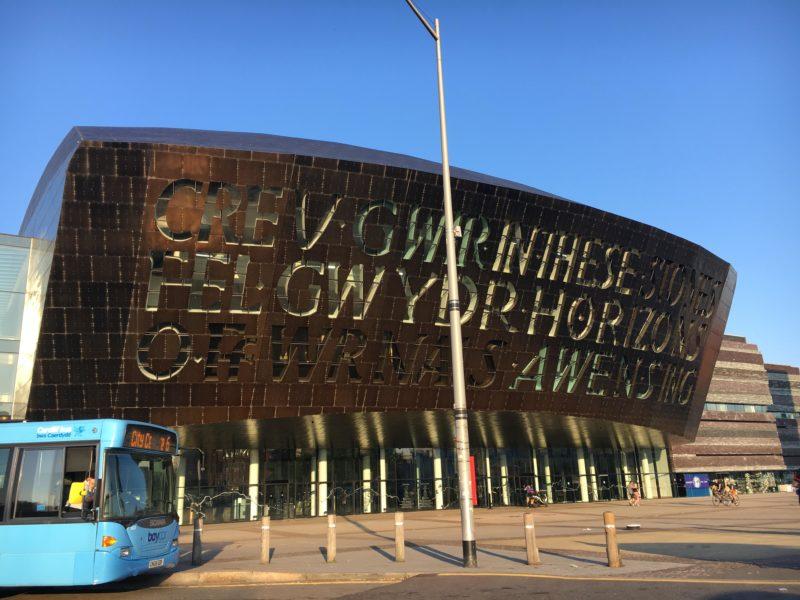 ウェールズ ミレニアムセンター(Wales Millennium Centre)