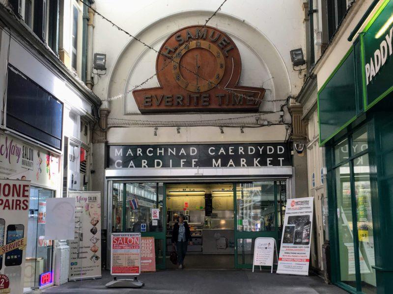 カーディフマーケット(Cardiff Central Market Marchnad Caerdydd)