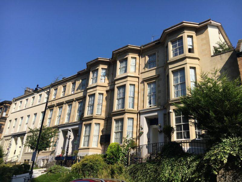 グラスゴーのホテル、ザ ビクトリアン ハウス(The Victorian House)