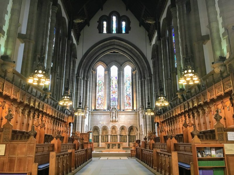グラスゴー大学(University of Glasgow)のチャペル(Chapel)