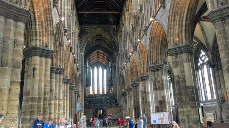 Glasgow Cathedral(グラスゴー大聖堂)の内部