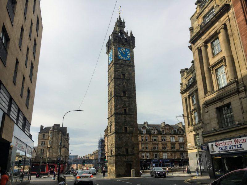 Merchant City Clock Tower(マーチャントシティ時計塔)