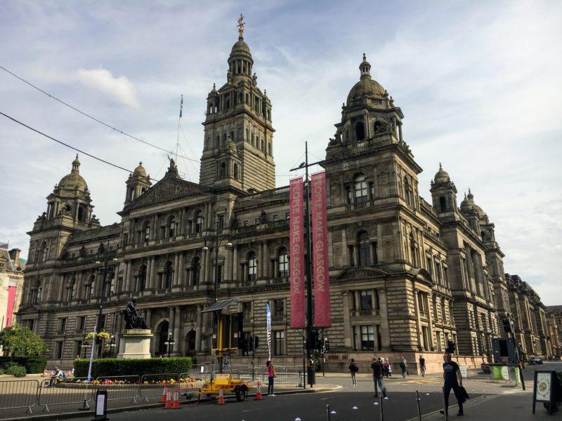 Glasgow City Chambers(グラスゴー市庁舎/市役所)