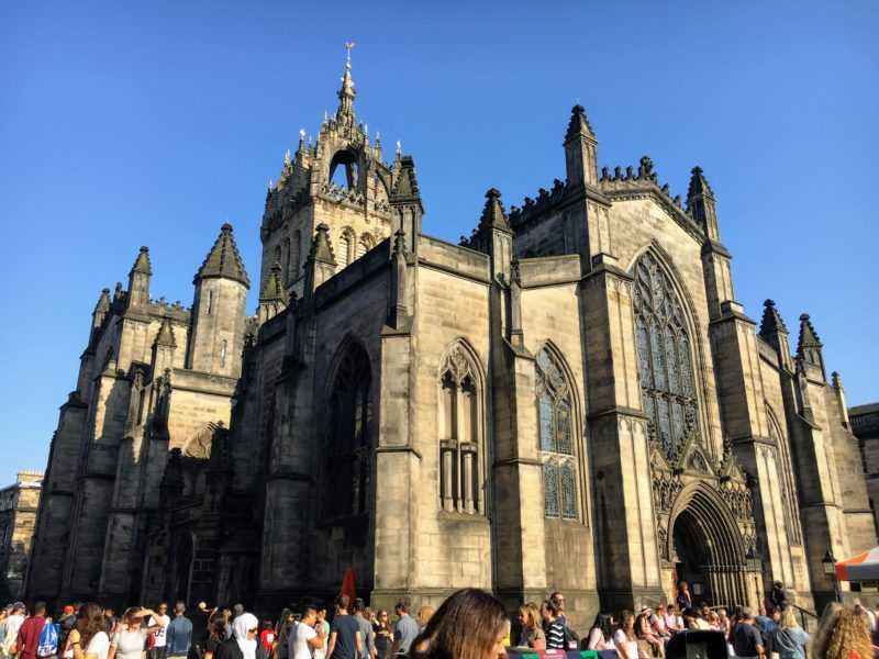 St. Giles Cathedral(セント・ジャイルズ大聖堂)