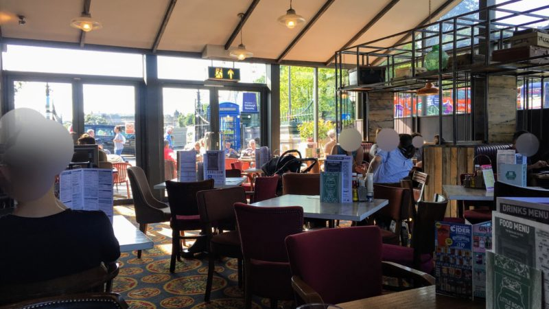 THE BOOKING OFFICE(Wetherspoon), ザ ブッキング オフィス(ウェザースプーン)の店内座席