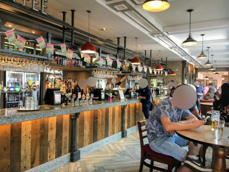 THE BOOKING OFFICE(Wetherspoon), ザ ブッキング オフィス(ウェザースプーン)の店内