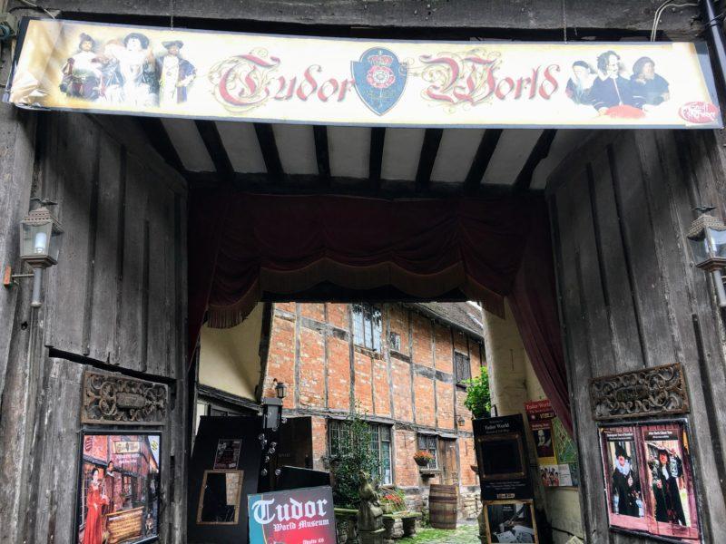 チューダーワールド博物館(Tudor World)の入り口