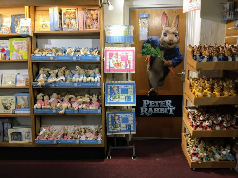 Timeless Tales(PETER RABBIT SPECIALIST)の内部